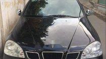 Bán Chevrolet Lacetti 1.6 MT đời 2005, màu đen như mới, giá 189tr