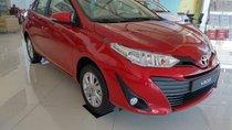 Bán xe Toyota Vios 1.5E CVT sản xuất năm 2019, màu đỏ, giá chỉ 554 triệu