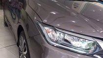 Cần bán Honda City 1.5 CVT năm sản xuất 2017, màu xám, giá 559tr