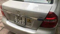 Cần bán Daewoo Gentra sản xuất 2009, màu bạc, xe nhập xe gia đình