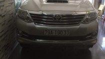 Cần bán Toyota Fortuner sản xuất năm 2015, màu bạc, giá 840tr