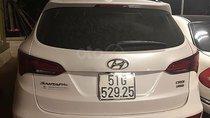 Cần bán Hyundai Santa Fe 2.2L 4WD năm 2018, màu trắng, xe đẹp