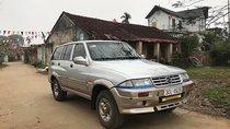 Bán xe Ssangyong Musso đời 1998, màu bạc, xe chạy dầu tiết kiệm nhiên liệu