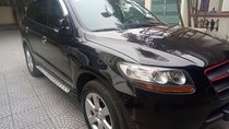 Bán Hyundai Santa Fe màu đen, đời 2009, máy zin
