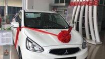Cần bán Mitsubishi Mirage 2019, màu trắng, xe nhập, giá tốt