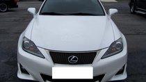 Lexus IS250 Fsport màu trắng sản xuất 2011 đăng ký lần đầu 2012 biển Hà Nội