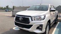 Bán Toyota Hilux 2.4G AT (4X2), màu trắng giá cạnh tranh, khuyến mãi lớn