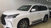 Bán Lexus LX570 màu trắng, nhập Mỹ, model và đăng ký 2016, full option, xe đẹp, biển Hà Nội - LH: 0906223838