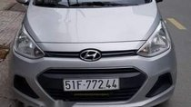 Bán Hyundai Grand i10 sản xuất năm 2016, màu bạc, xe nhập, 350tr