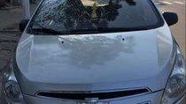 Bán Chevrolet Spark sản xuất 2012, màu bạc xe gia đình