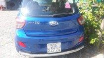 Cần bán xe Hyundai Grand i10 đời 2015, màu xanh lam