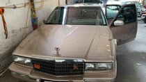 Gia đình bán Cadillac STS Seville V8 4.5 đời 1990, màu vàng, nhập khẩu nguyên chiếc