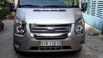 Cần bán Ford Transit đời 2013, màu bạc
