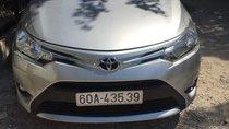 Chính chủ bán lại xe Toyota Vios 2017, màu bạc