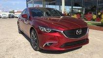 Mazda Gia Lai bán xe Mazda 6 2.0 Premium, màu đỏ cao cấp mới, xe có sẵn giao ngay, hỗ trợ góp 80% đưa trước 300tr nhận xe