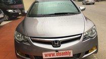 Cần bán xe Honda Civic 1.8 MT năm 2007, màu xám (ghi), 315 triệu