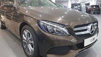 Bán xe Mercedes C200 đời 2019, màu nâu