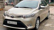 Cần bán chiếc xe Toyota Vios 1.5E MT (số sàn), màu vàng cát, nội thất màu kem, odo 48000 km