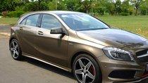 Cần bán gấp Mercedes A250 tự động 2015 màu nâu hoàng kim đẹp