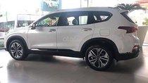Cần bán xe Hyundai Santa Fe 2.2 sản xuất năm 2019, màu trắng, xe mới 100%