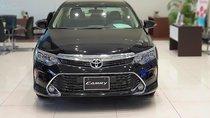 Bán xe Toyota Camry 2.0E sản xuất năm 2019, số tự động, máy xăng, màu đen, nội thất màu kem