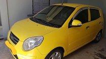 Bán Kia Morning LX 1.0 AT sản xuất 2009, màu vàng, xe nhập