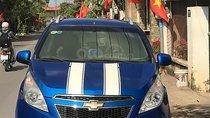 Bán xe Chevrolet Spark LT 1.2 MT đời 2011, màu xanh lam