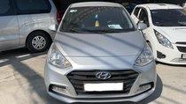 Bán Hyundai Grand i10 Sedan 1.2MT 2018, màu bạc, đúng chất, giá TL, hỗ trợ trả góp