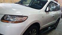 Bán Hyundai Santa Fe SLX 2.0 AT Đk 2010, Sx 2009 màu trắng, xe nhập khẩu tuyệt đẹp