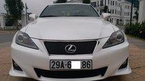 Bán Lexus IS250 Fsport màu trắng, model 2011, đăng ký lần đầu 2012, biển Hà Nội