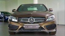 Bán ô tô Mercedes C300 năm sản xuất 2017, màu nâu