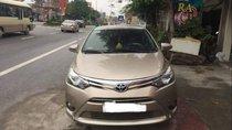 Cần bán xe Toyota Vios sản xuất 2015, màu vàng giá cạnh tranh