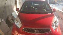 Bán ô tô Kia Morning 2016, màu đỏ đã đi 22000km, 350tr