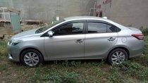 Cần bán lại xe Toyota Vios đời 2017, màu bạc, xe nhập
