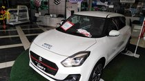 Bán Suzuki Swift GLX đời 2018, màu trắng, nhập từ Thái