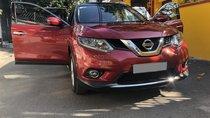 Bán Nissan Xtrail 7 chỗ tự động 2018, bản full đẹp, màu đỏ đô đặc biệt