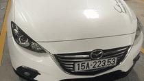 Bán xe Mazda 3 đời 2015 màu trắng, 560 triệu, xe nhập