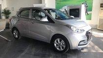 Bán Hyundai Grand i10 năm sản xuất 2018, màu bạc