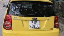 Bán xe Kia Morning năm 2009, màu vàng, giá tốt
