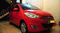 Cần bán Hyundai Grand i10 2011, màu đỏ, nhập khẩu nguyên chiếc, giá 275tr