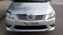 Bán Toyota Innova E đời 2013, màu bạc, giá 476tr
