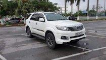 Bán Toyota Fortuner TRD Sportivo đời 2015, màu trắng chính chủ