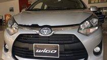 Bán xe Toyota Wigo 1.2 MT 2019, màu bạc, xe nhập, giá tốt