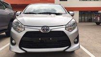 Cần bán Toyota Wigo 1.2E đời 2019, màu bạc, giá 345tr