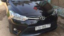Bán Toyota Vios E năm sản xuất 2016, màu đen, xe nhập