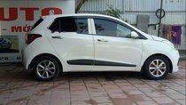 Cần bán lại xe Hyundai Grand i10 1.25 AT sản xuất năm 2016, màu trắng, xe nhập, giá chỉ 399 triệu