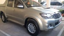 Cần bán Toyota Hilux G 2014, màu bạc, nhập khẩu nguyên chiếc số sàn