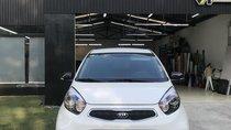Cần bán Kia Morning Si 10/2018 trắng, xe nhà sử dụng mới 99%