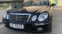Bán Mercedes E280 đời 2008, màu đen, xe gia đình, 570tr