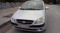 Bán Hyundai Getz 1.1 MT năm 2010, màu bạc, nhập khẩu chính chủ, giá 205tr
